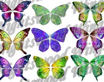 Instant Download OOAK Fairy Pixie Bear Fantasy Wing sheet 09