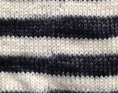 Sock Chunks - #1: Black & White