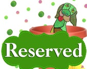 Reserved For Jessi