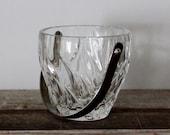 Regency Style Crystal Cut Glass Ice Bucket