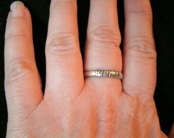 Vintage Italian Silver Ring