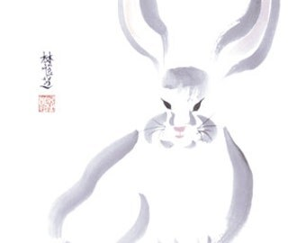 Chinese Zodiac Hare 8x10 print