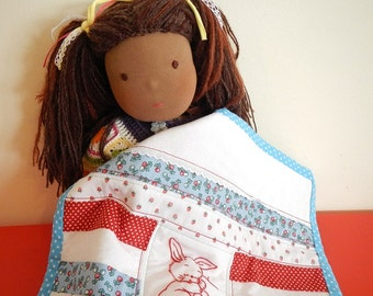 Doll Quilt PATTERN  - english instructions