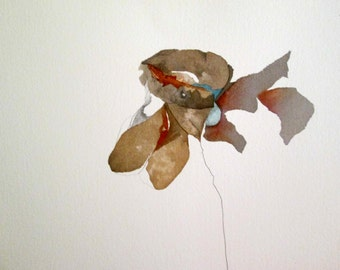 """Untethered Series    """" Ode to Bontecou""""     Original-one-of-a-Kind"""