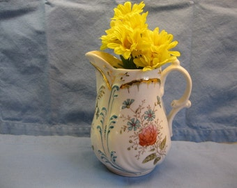 Hyalyn Yellow Pottery Tall Footed Vase Mid Century