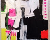 Abstract Painting 'Clarissa'