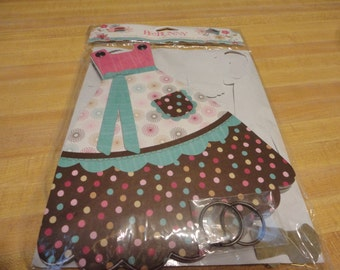 Bo Bunny Sweet Tooth Apron Scrapbook Album Kit