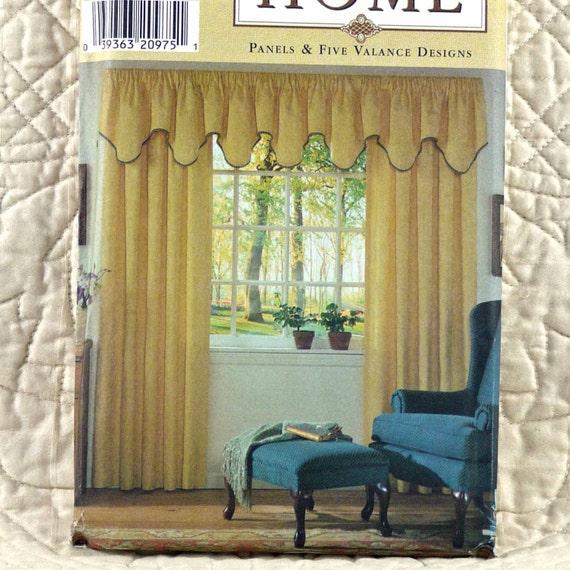 Home Decor Trim: Window Treatments Pattern, Simplicity 7885, Home Decor