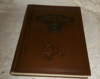 LA Lincoln High School Yearbook Lincolnian 1930