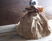 Upcycled Paper Angel Tree Topper