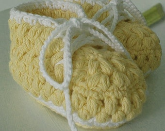 Crochet pattern baby booties - HK7