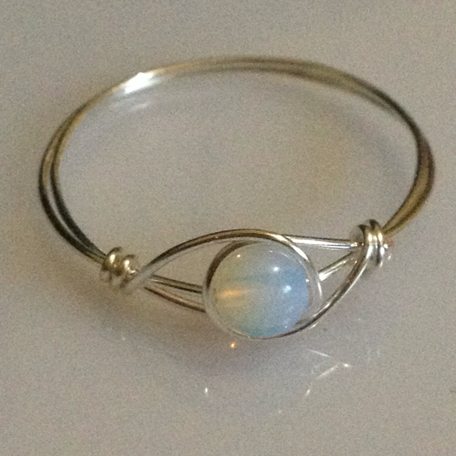 wire wrapped jewelry handmade wire wrapped ring by