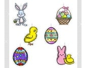 Easter...Bling Charms/ Ornaments...Set of 12...Custom made to order