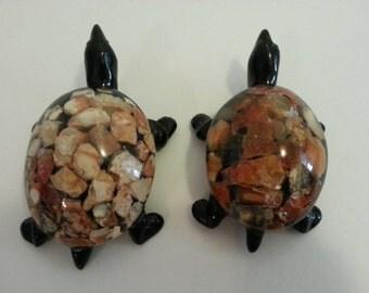 Two Decorative Turtles
