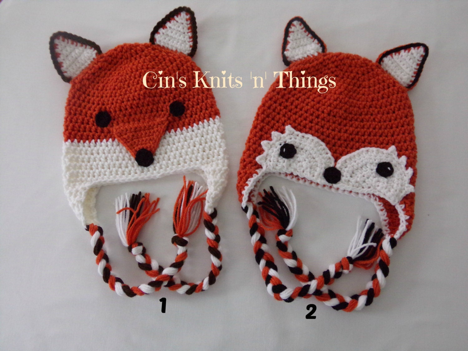 Crochet Fox Hat : Request a custom order and have something made just for you.