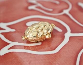 1 pc, Box Clasp, 18K Gold Vermeil, 925 Sterling Silver, Fancy Oval-Shape, Single-strand, Necklace or Bracelet Clasp, DIY Supplies