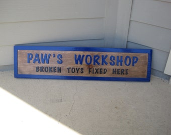 Papa's Workshop - Broken Toys Fixed Here