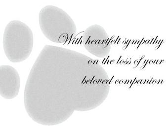 Pet Sympathy