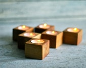 Tea lights, Wood tea light, Wood planters, Wood turning, Wedding decor, Candle Holder, Lantern, Wood light, Center piece, Small wood bowl