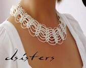 Bridal Ivory Bible Necklace-Vintage Style-Wedding Necklace-Bridal Necklace-Wedding Accessories-Victorian Necklace-Wedding Jewelry-Bridal