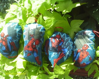 Spider-Man Pillow Ornaments - Set of 4