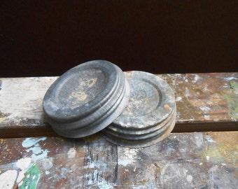 Old Canning Jar Lids
