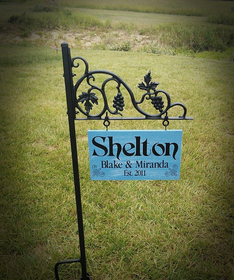 Personalized Yard Signs Christmas Gift Ideas Garden Signs