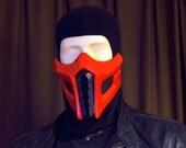 Mortal Kombat ERMAC (Sub-Zero Alt.) Airsoft Cosplay mask - Made to order -