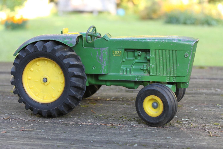 Vintage Ertl John Deere 5020 Diesel Tractor By