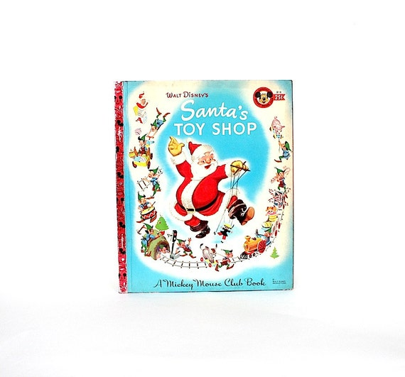 Vintage girls toy shoppe story book