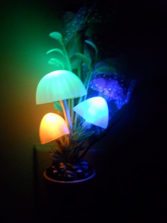 Mushroom Night Light Light Up Beautiful Color Changing Style