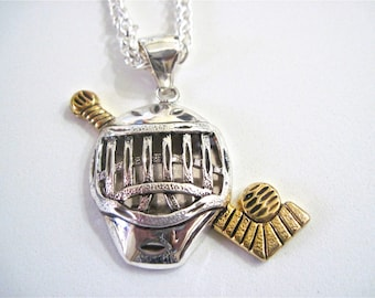 """Hockey Pendant Necklace """" This is my Game"""""""