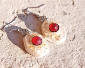 "Earrings "" Passion"", handmade.."
