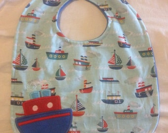 Steam Boat Bib