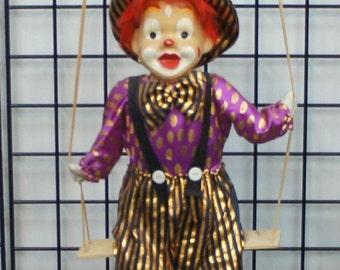 Vintage Swinging Clown