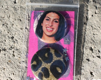Amy Winehouse WINO FOREVER Limited Edition Button Set