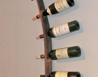 Barrel Stave 5 Bottle Wall Mount Wine Rack – The Bachelor