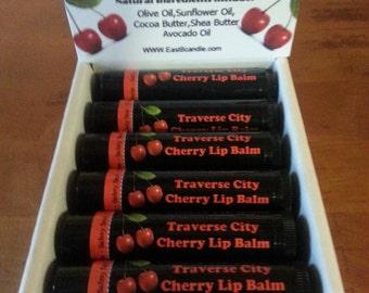 6 - Tubes-Traverse City Cherry Lip Balm- SALE