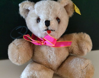 Vintage Plush Baby Teddy Bear by Character (USA)