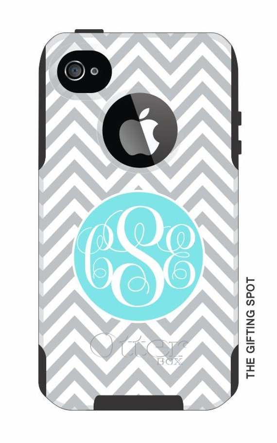 monogrammed otterbox commuter phone case iphone by thegiftingspot