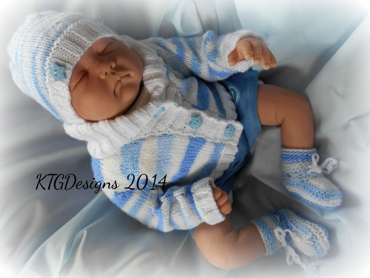 Baby Knitting Patterns With Instructions : Knitting pattern instructions to knit baby boys or reborn doll