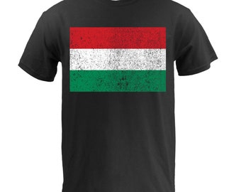 Flag of Hungary - Black