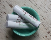 Rosemary Mint Lip Balm, Natural Essential Oil Lip Balm, Stocking Stuffer, Hostess, Coworker Gift For Mom Girlfriend