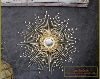 27in Sparkle & Shine Starburst / Sunburst Mirror #1007