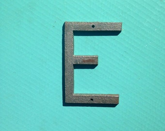 5 Inch Metal Letter E