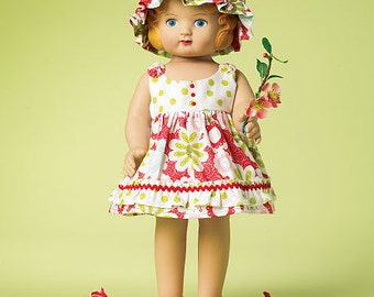 """McCalls 6573, Doll Clothes Pattern, 18"""" Doll Clothes sewing pattern, New Uncut"""