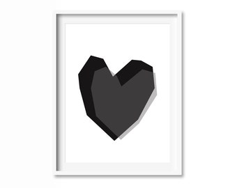 Heart IV poster 40x50