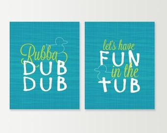 rubber ducky bathroom prints kids bathroom prints rubba dub dub rubber ducky art