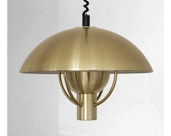 Impressive and rare vintage lamp, by Fog & Mørup
