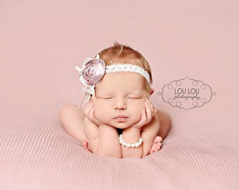 Pearl Newborn Bracelet, Swarovski Pearls